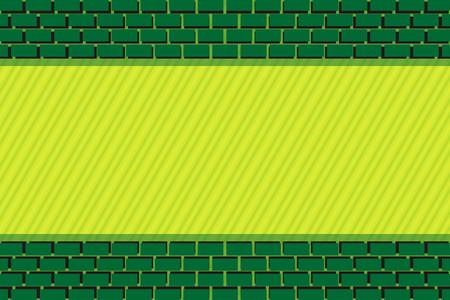 Materiales de base, ladrillo, bloque, teja, ladrillo, bloques de construcción, edificio, pared, valla, retro, casas de piedra, muros de piedra, piedra Ilustración de vector