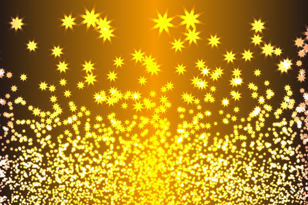 Background material, sparkling, light, orb, shiny stardust, starry sky, night sky, illumination, mystery, fantastic, colorful Illusztráció