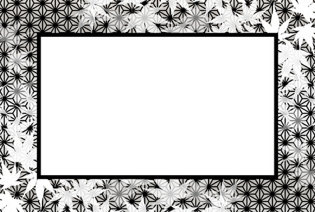 Background, photo frame, photo frame, autumn, Momiji leaves, the title space, which leaves, rot away leaves, autumn leaves, margin, retrochic