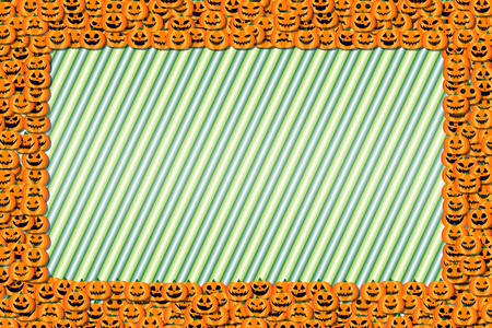 Background material, photo frames, Halloween party, greeting cards, pumpkin, invitation, invitations, fall,