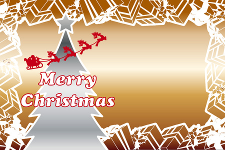 Background material, gifts, party, message, Merry Christmas, greeting cards, invitations