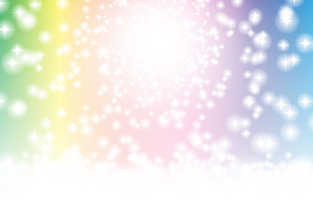Twinkle Stars background material wallpaper, glittering heavenly image paradise Illustration