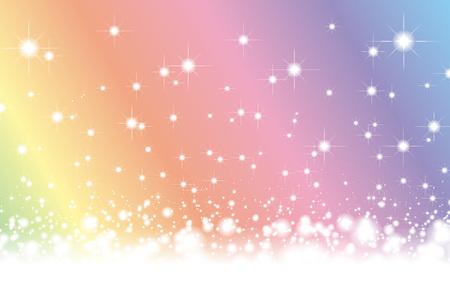 Achtergrondmateriaal, licht, sprankelend, vedervrij materiaal, wolk, witte mist, kans, hemel, geluk, vreugde, hoop, afbeeldingen, Vector Illustratie