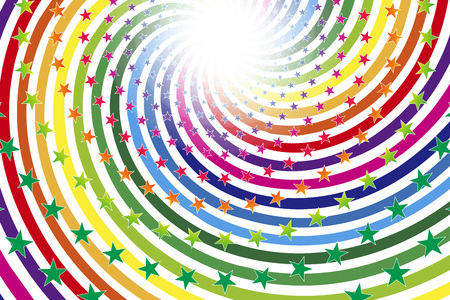 Colorful illustration background, rainbow color, fun game materials, party posters, red, blue, yellow, green, Orange, purple
