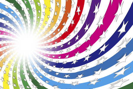 Colorful background material, glitter, Rainbow, free, paradise, happiness, happy images, energetic, lively, swirl, Stardust