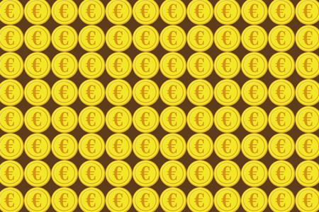 Business Image Material, US Dollar, Japanese Yen, Euro, United States, Japan, Europe, $, ¥, €, Foreign Exchange, Forex Tra Ding Illustration