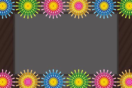 Advertising, material, publicity, promotion, commercial, promotion, business, sale, sales, sale, Pop Art, flyer, poster, brochure, image, fireworks, summer, event, illustration, fireworks only last, n