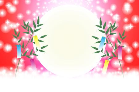 Japanese background illustration
