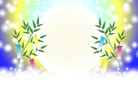 Japanese festival illustration background