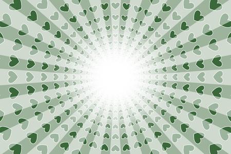 Radial illustration background