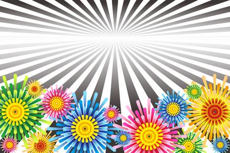 Background illustration Stock Illustratie