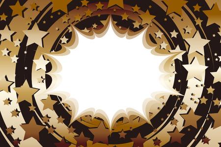 Manga illustration background Illustration