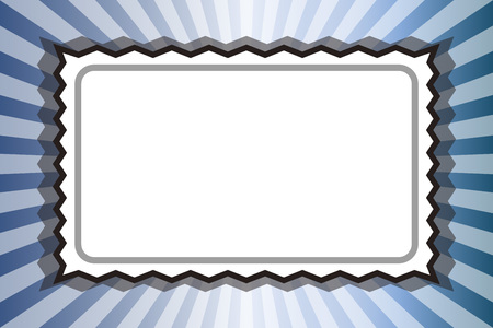 Background material, photo frame, picture frame, nametag, price tag, copy space, message, radiation, centralized line, retro
