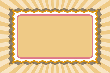 Name card, price, copy space, title space, Focus line, free background material, free size, Ilustracja