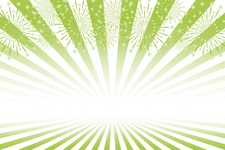 Free illustration background, fireworks image, uchion fireworks, Summer festival, event poster, free material, night view, glitter, Ray Ilustração