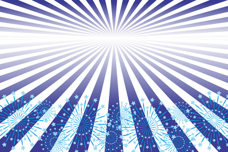 Background material wallpaper, radiation, convergence line, light, sparkle, shimmer, business advertising, propaganda posters, starmine, fireworks, free