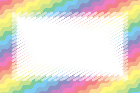 Background wallpaper, pastel colors, name tags, price tag illustration, kids, wave, wave, jagged pattern, free size,