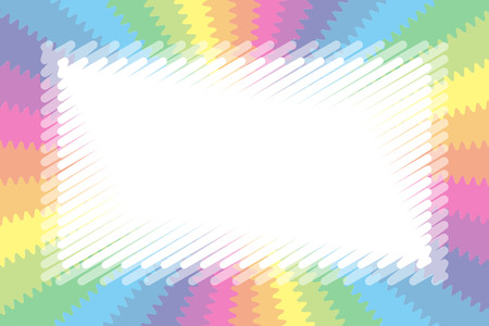 Colorful background wallpaper, pastel colors, name tags, price tag, illustration, kids, blur, Radiant, jagged, wave, free Stock Vector - 124885919