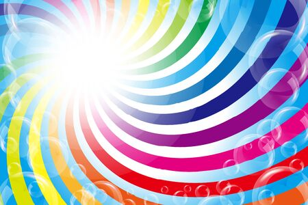 background material wallpaper,illustration,fun party,rainbow color,swirl,bubble,synchro,synchro,shine,free,free
