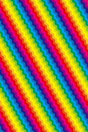 Hintergrundbild, Vektor, Wellenmuster, Regenbogen, Regenbogenfarbe, Freesize, Welle, lustiges Bildwave Vektorgrafik