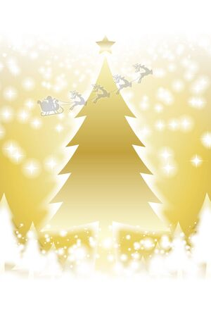 Vector Illustration Background Wallpaper,Christmas,Copy Space,Winter,Free Material,Free Size,December,Advertising Standard-Bild - 129307215