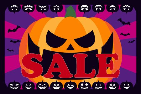 Vector Illustration Background Wallpaper,Halloween Party,Pumpkin,Advertising Poster,Copy Space,Free Material