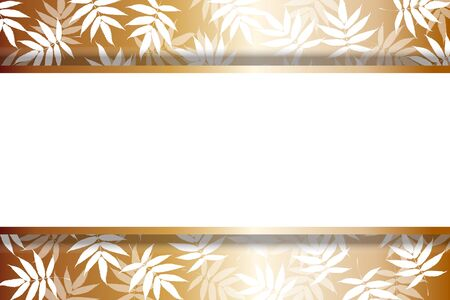 Vector Illustration Japanese Style Background Material Wallpaper,Summer,Bamboo Leaf Pattern,Young Leaf,Fresh Green,Title Space,Free,Free Size  イラスト・ベクター素材