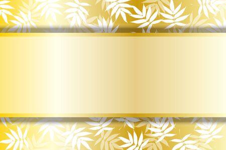 Vector Illustration Japanese Style Background Wallpaper,Wakakusa,Wakaba,Fresh Green,Bamboo Leaf,Title Space,Free,Free Size,Summer  イラスト・ベクター素材