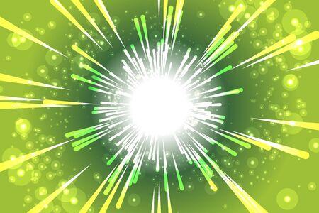 vector illustration background material, glitter, light, starmine, fireworks launch, summer festival, advertising poster, free, Illustration