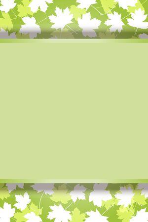 Vector Illustration Background Material, Autumn Image, Autumn Leaves, Fallen Leaves, Maple, Maple, Copy Space, Free, Free Size Ilustração