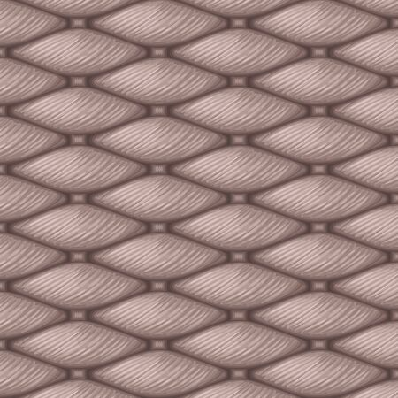 Knitting pattern design vector. macro realistic texture pattern. illustration