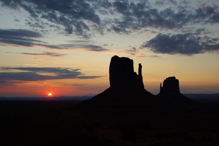 Sunrise at Monument Vally photo