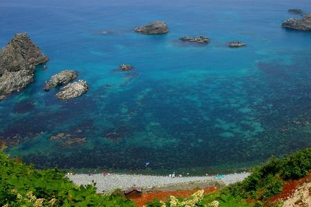 beautiful coast in Hokkaido, Japan Stock Photo - 13328311