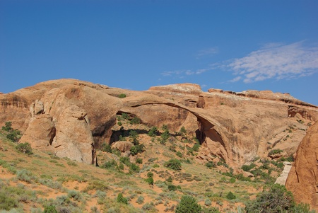 arches national park: Landscape Arch in Arches National Park