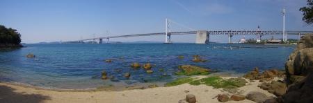 Seto Ohashi Bridge  Panorama