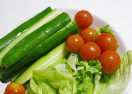 salad of summer vegetables