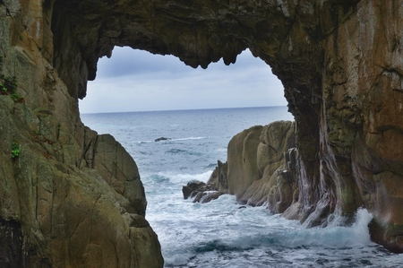 Sea cave at Cape Ashizuri