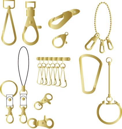 apparel part: metal parts design