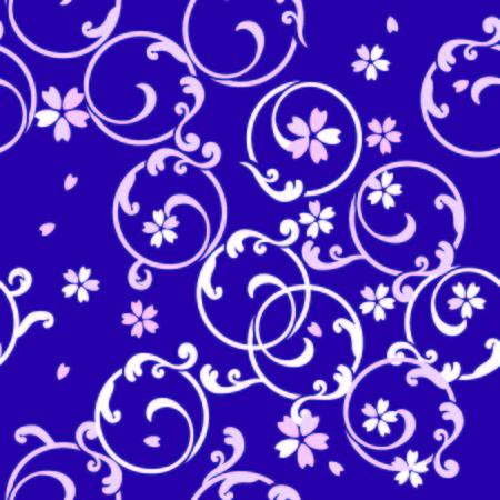 chinoiserie: japanese arabesque pattern