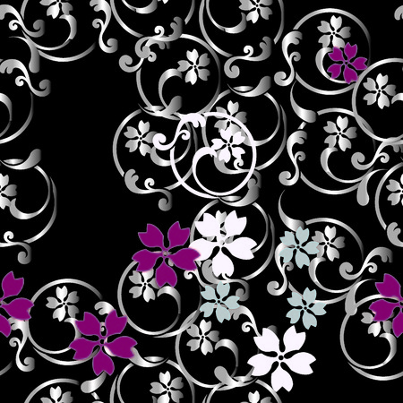 natty: japanese arabesque pattern