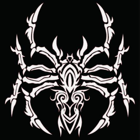 natty: Tribal tarantula