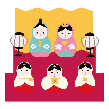 3 月ひな祭り日本
