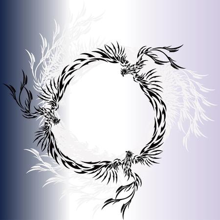 snazzy: Tribal-Phoenix