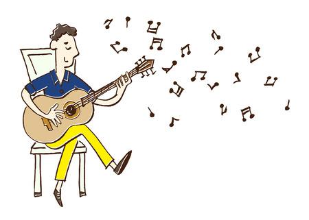 음악가 기타