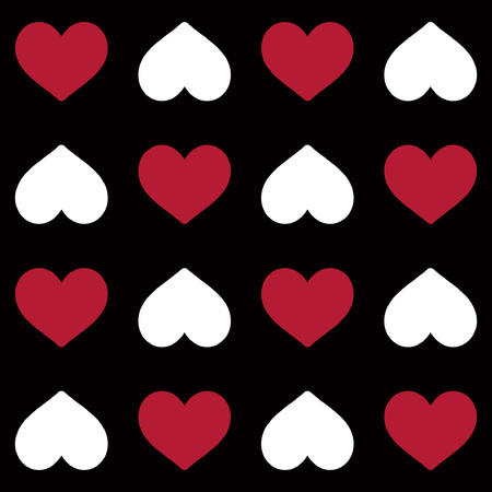 heart shape  seamless pattern