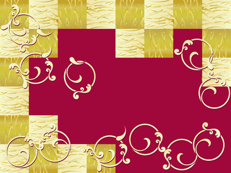 Japanese pattern. Japanese style, vector illustration. Ilustração