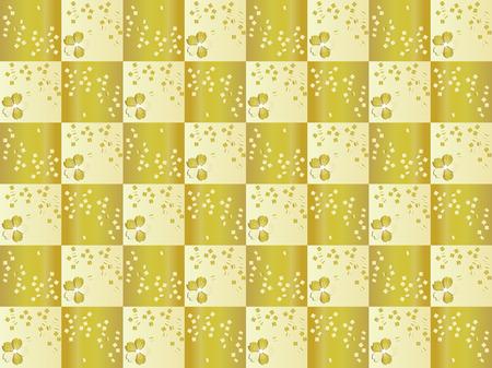 Gorgeous Japanese style checkered pattern. Ilustração