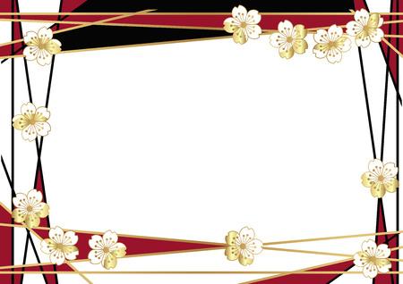 桜壁紙素材デザイン