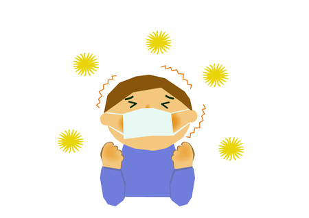Image of hay fever. Image of allergy. People of cedar pollen and allergy. Image of stuffy nose and hay fever.