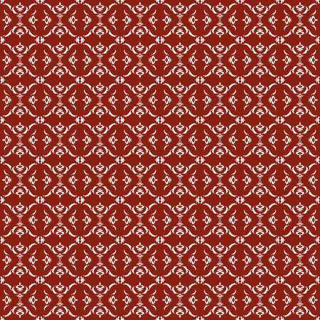 Seamless pattern of arabesque. Elegant wallpaper. Monogram. Patterns arranged in a grid.